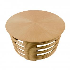 Godfather rattan coffee table hotel furniture