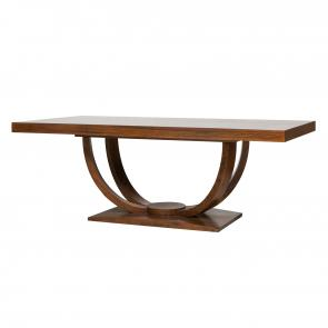 Olympus dining table teak veneer full hotel furniture