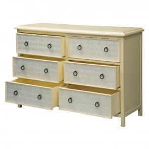 Custom oak six drawer dresser hotel furniture