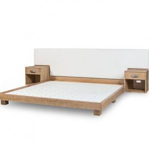 King bed headboard nightstands hotel furniture