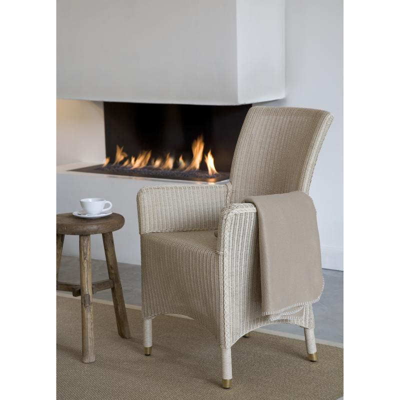 Sylvia dining chair wicker side hotel furniture
