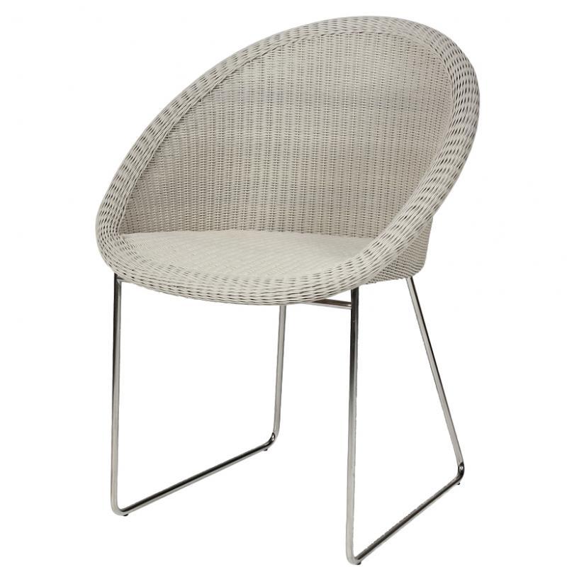 Gigi wicker chair restaurant furniture
