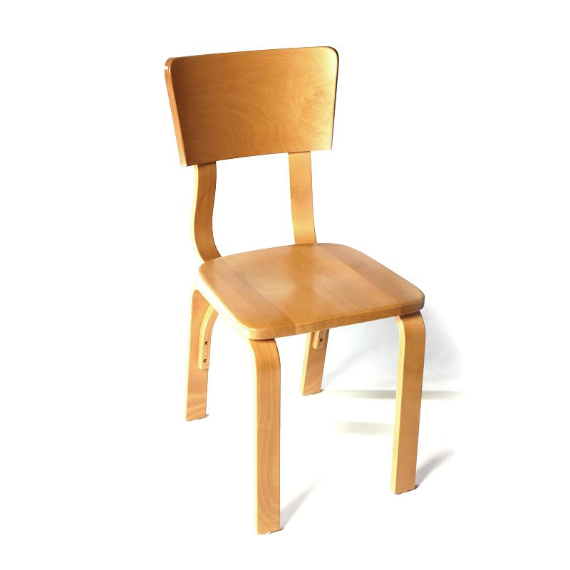 Bent plywood side chair light hotel furniture