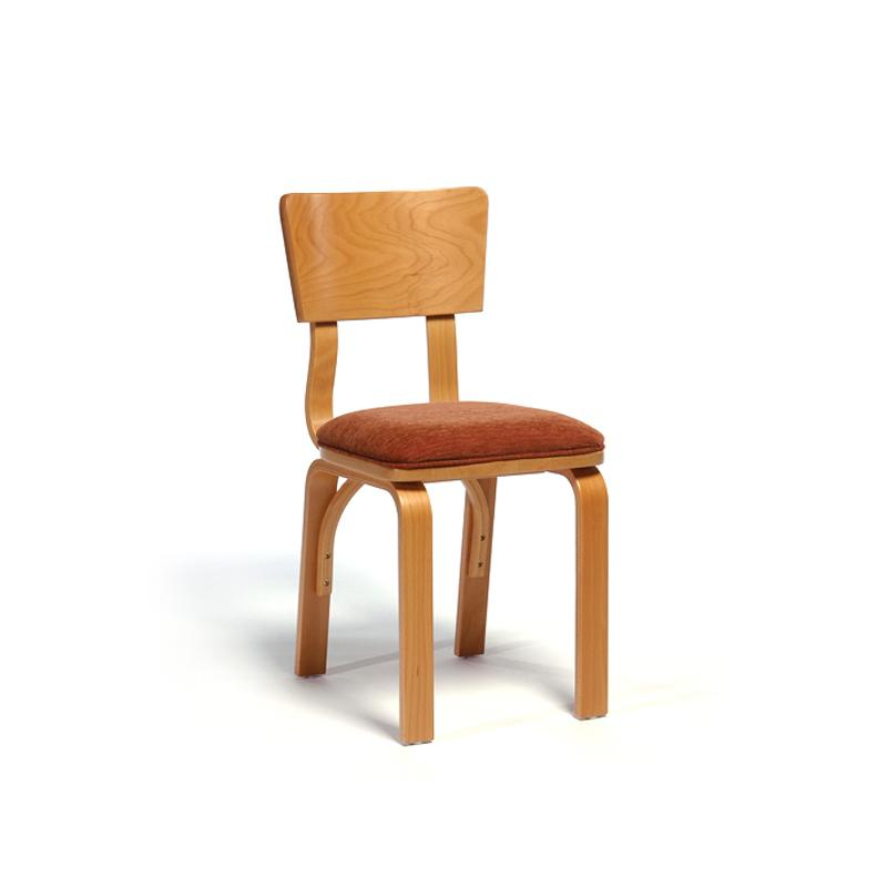 Side chair bent plywood hotel furniture