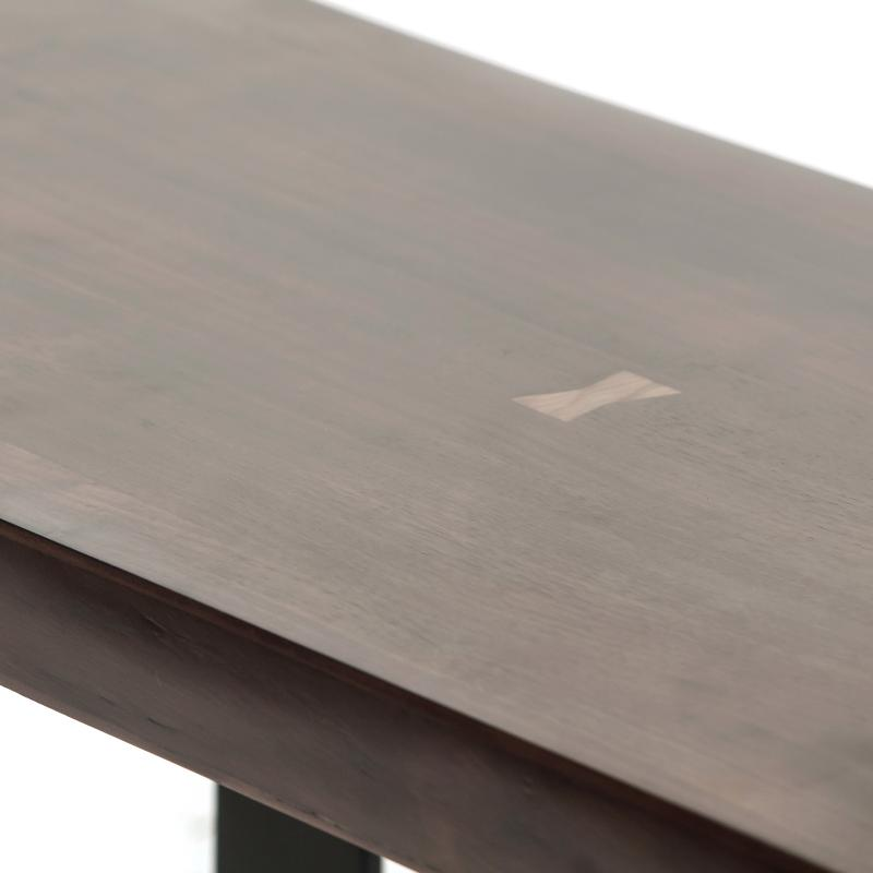 Walnut wood coffee table top hotel furniture